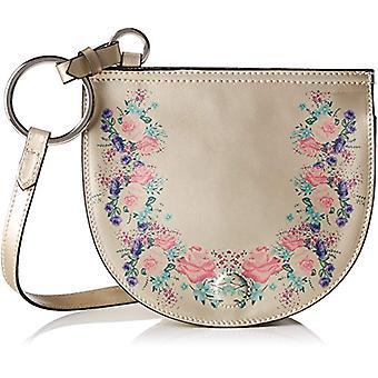 Chicca Bags 1545 Women's shoulder bag Gold 20x18x88 cm (W x H x L)