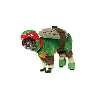 Dog Costume Teenage Mutant Ninja Turtle Raphael Superhero Funny Fancy Dress