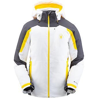 Spyder COPPER Herren Gore-Tex Primaloft Ski Jacke weiß