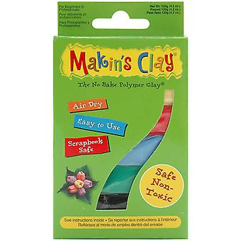 Makin's Clay Clay Air 120 Gramm Multi Color M320 3