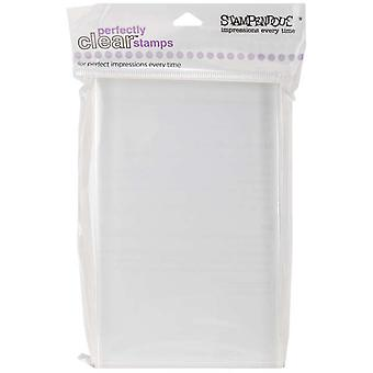 Stampendous Perfectly Clear Stamp Block Large Rectangle  4