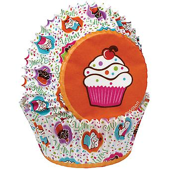 Standard Baking Cups Cupcake Party 75 Pkg W4150509