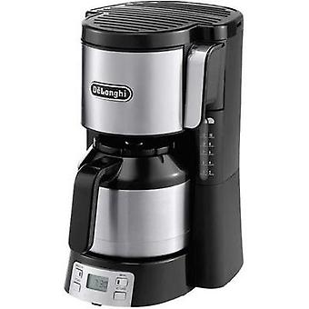 Coffee maker DeLonghi Black/silver Cup volume=10 Thermal jug, Timer