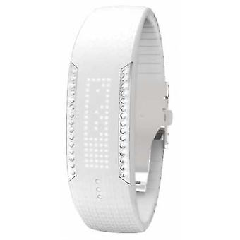 Polar Unisex Loop 2 Swarovski Crystal White Activity Tracker 90057756 Watch