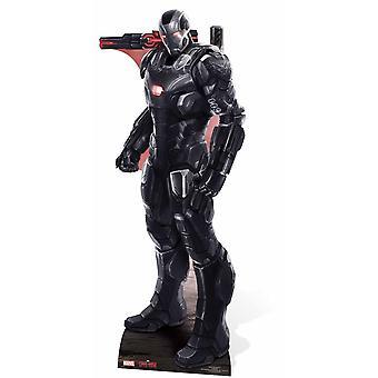 Krig maskine Marvel Lifesize pap påklædningsdukke / Standee / står