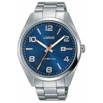 Lorus Mens Stainless Steel Bracelet Blue Dial RH961GX9 Watch