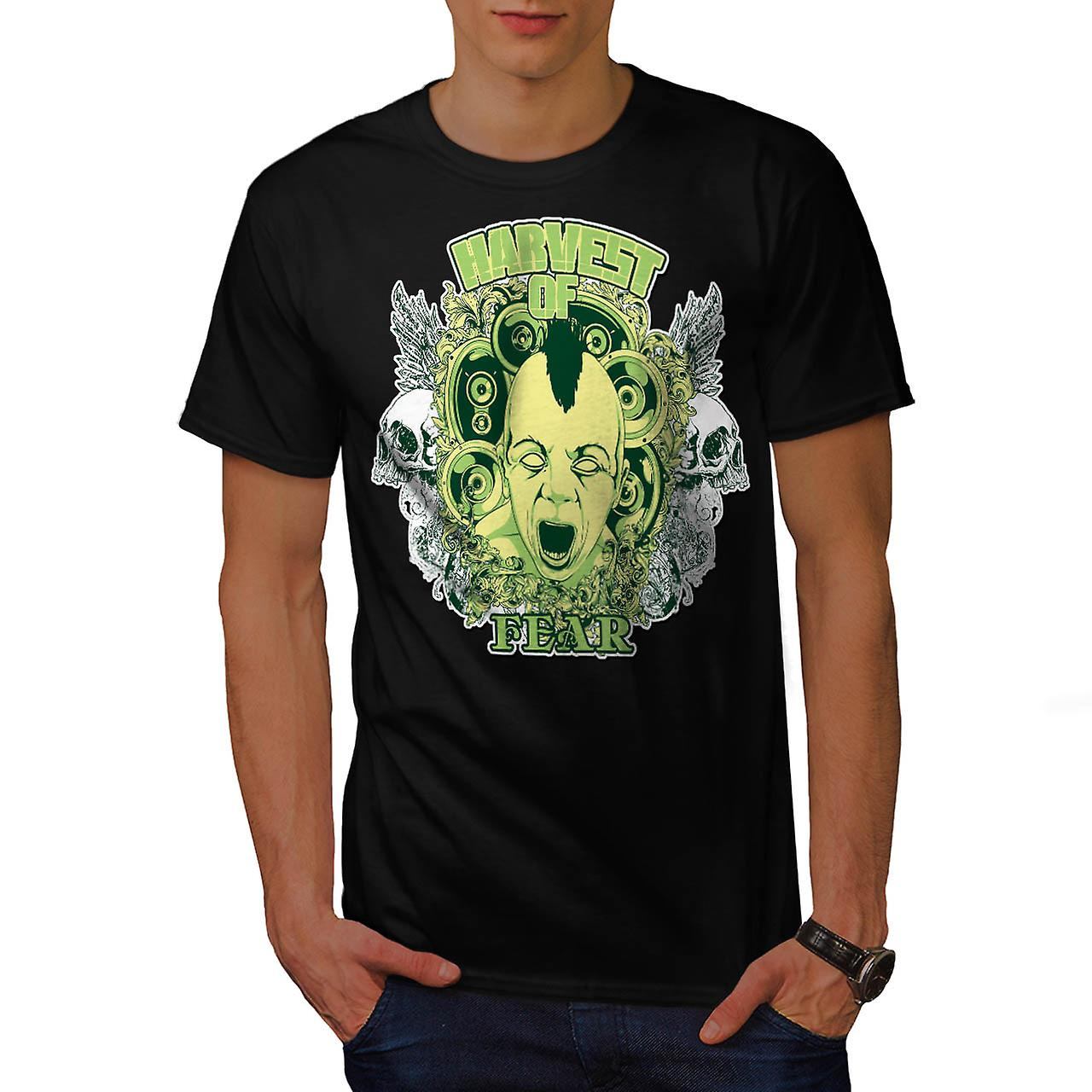 Harvest Of Fear Doll Ghost Haunt Men Black T-shirt | Wellcoda