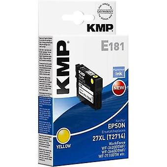 KMP Ink replaced Epson T2714 (27XL) Compatible Yellow 1627,4009
