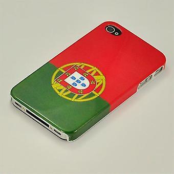 Handyhülle für IPhone 4/4 s-Portugal Flagge