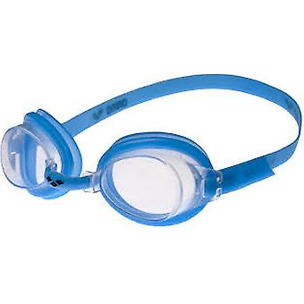 Arena Bubble 3 Junior Swim Goggle - Clear Lens - Blue Frame