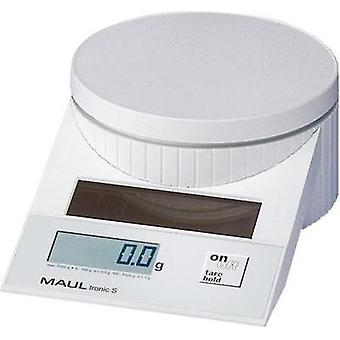 Letter scales Maul MAULtronic S 5000 Weight range 5 kg Readability 2 g, 5 g White