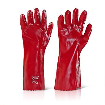 Click 2000 PVCR16 General Handling Glove PVC Coating Wet & Oily Grip 16   - 40cm