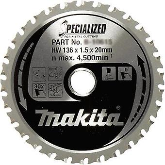 Makita B-33526 Diameter: 136 mm Thickness:1.2 mm saw blade