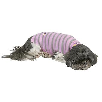 Doggy ting stribe Jumper Pink ekstra ekstra små 30cm