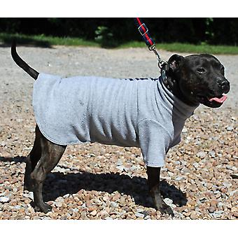Cosi Fleece Coat Grey 20cm (8