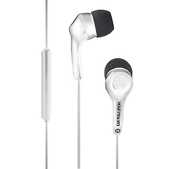iFrogz Ear Pollution Bolt Plus Headphones-White