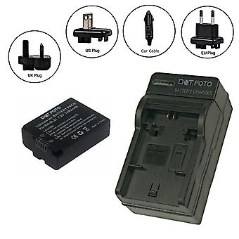 Dot.Foto Nikon EN-EL21 - 7.2v/1485mAh Battery and Battery Travel Charger