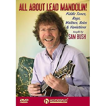 Sam Bush - alle om føre Mandolin [DVD] USA import