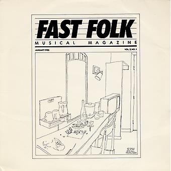 Fast Folk Musical Magazine - Vol. 2-Fast Folk Musical Magazine (1) [CD] USA import