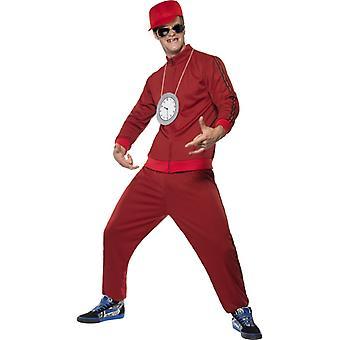 Flava flava costume gangster rapper redneck costume tracksuit size M