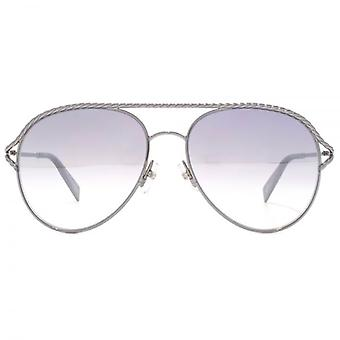 Marc Jacobs Metall Twist Pilotenbrille Ruthenium rot