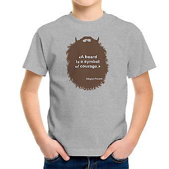 Broda kolekcji Symbol odwagi dla dzieci T-Shirt