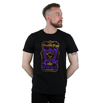 Harry Potter Men's Chocolate Frogs Coloured Label T-Shirt
