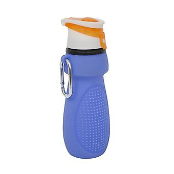 Silicone Roll Up Sports Bottle - 75 x 200mm - Yellowstone