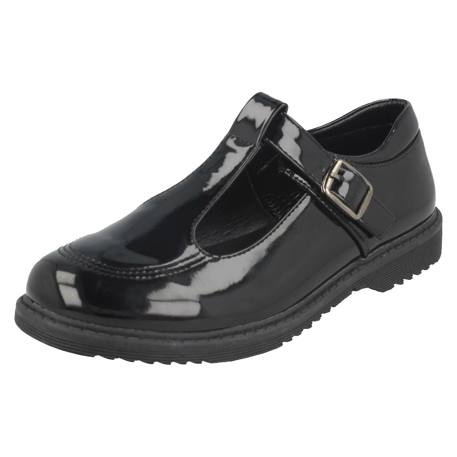 Mädchen Cool für die Schule Schlepplift Schnalle Schuhe H2433