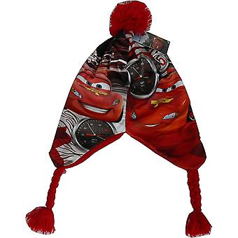 Boys Disney Cars Lightning McQueen Peruvian Winter Hat