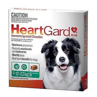 Heartgard Plus Chew Green 6 Pack
