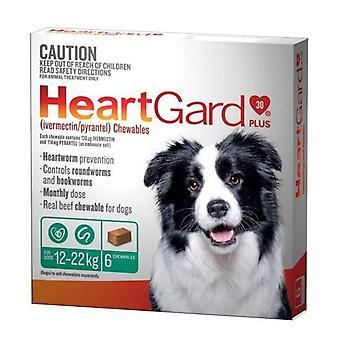 Heartgard Plus masticare verde 6 Pack