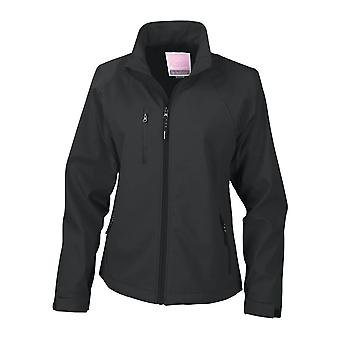 Result Ladies/Womens La Femme� 2 Layer Base Softshell Breathable Wind Resistant Jacket