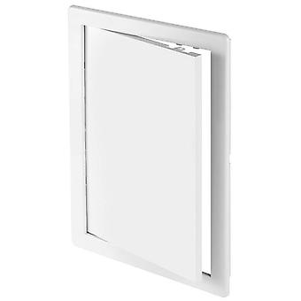 ABS White Plastic Durable Inspection Panel Hatch Wall Access Door Various Sizes