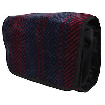 Bown of London Arbroath Wash Bag - Navy/Red