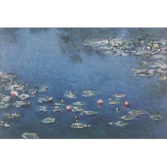 Waterlillies Poster Print by Claude Monet (36 x 24)
