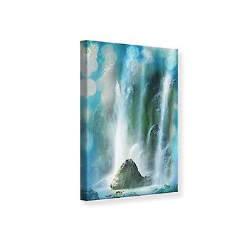 Canvas Print In Waterfall