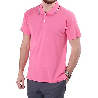 PS Paul Smith Mens Short Sleeve Polo With Tipped Collar Ps Embro