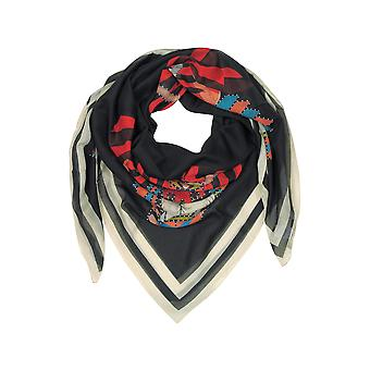 Givenchy women's GW1414SC7931 black silk foulard