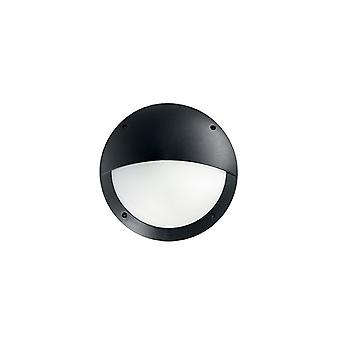 Lucia Black halbe Diffusor Wand bündig - Ideal Lux 96698