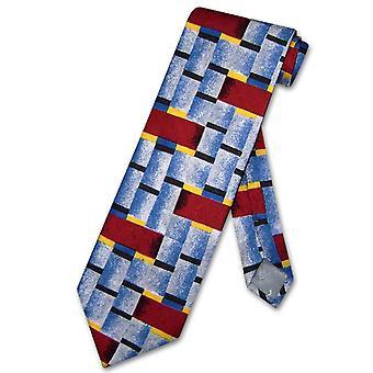 Antonio Ricci Seiden Krawatte hergestellt in Italien geometrische Design Herren Krawatte #3121-4