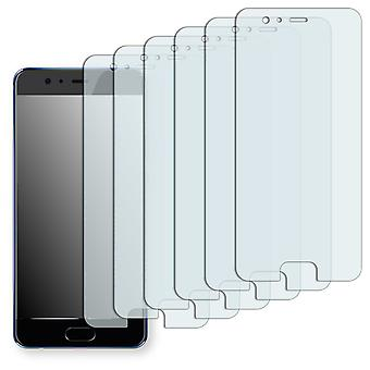 Huawei P10 plus screen protector - Golebo Semimatt protector (deliberately smaller than the display, as this is arched)