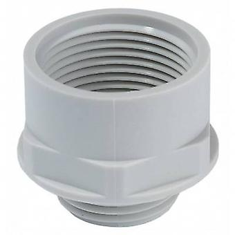 Cable gland adapter PG13.5 M20 Polyamide Light grey Wiska APM 13,5/20 1 pc(s)