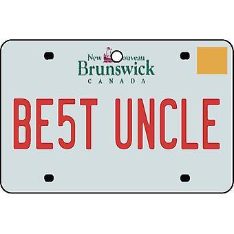 NEW BRUNSWICK - beste oom License Plate auto luchtverfrisser