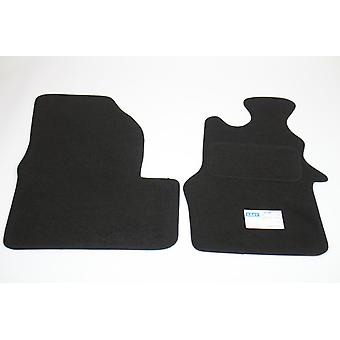 Fully Tailored Car Floor Mats - Renault MASTER mk3 van 2003-2018 Black