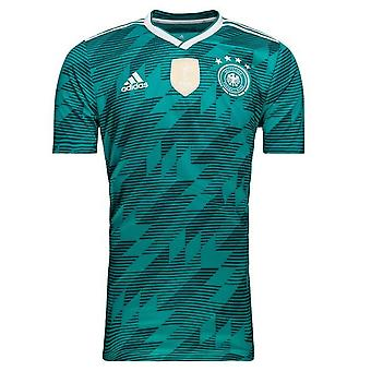 2018-2019 Tyskland borta Adidas fotbollströja (Kids)