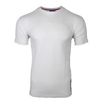 アディダス オリジナルス刺繍メンズ ホワイト t シャツ AZ6366