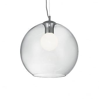 Ideal Lux Nemo Fishbowl hänge droppe taklampa, 40cm Globe