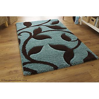 Nieuwe kunst blauw tapijt