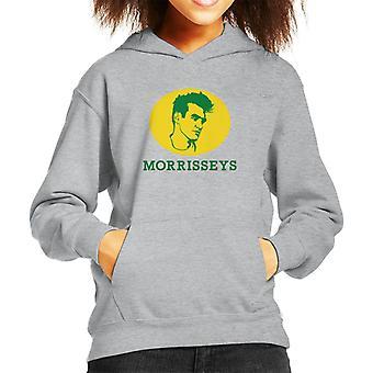 Morrisseys Face Morrisons Logo Kid's Hooded Sweatshirt